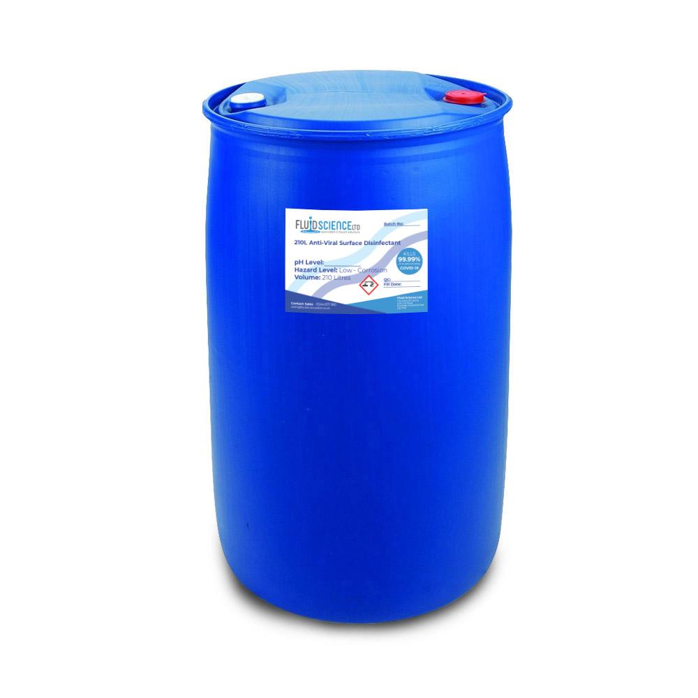 210 litre antiviral disinfectant