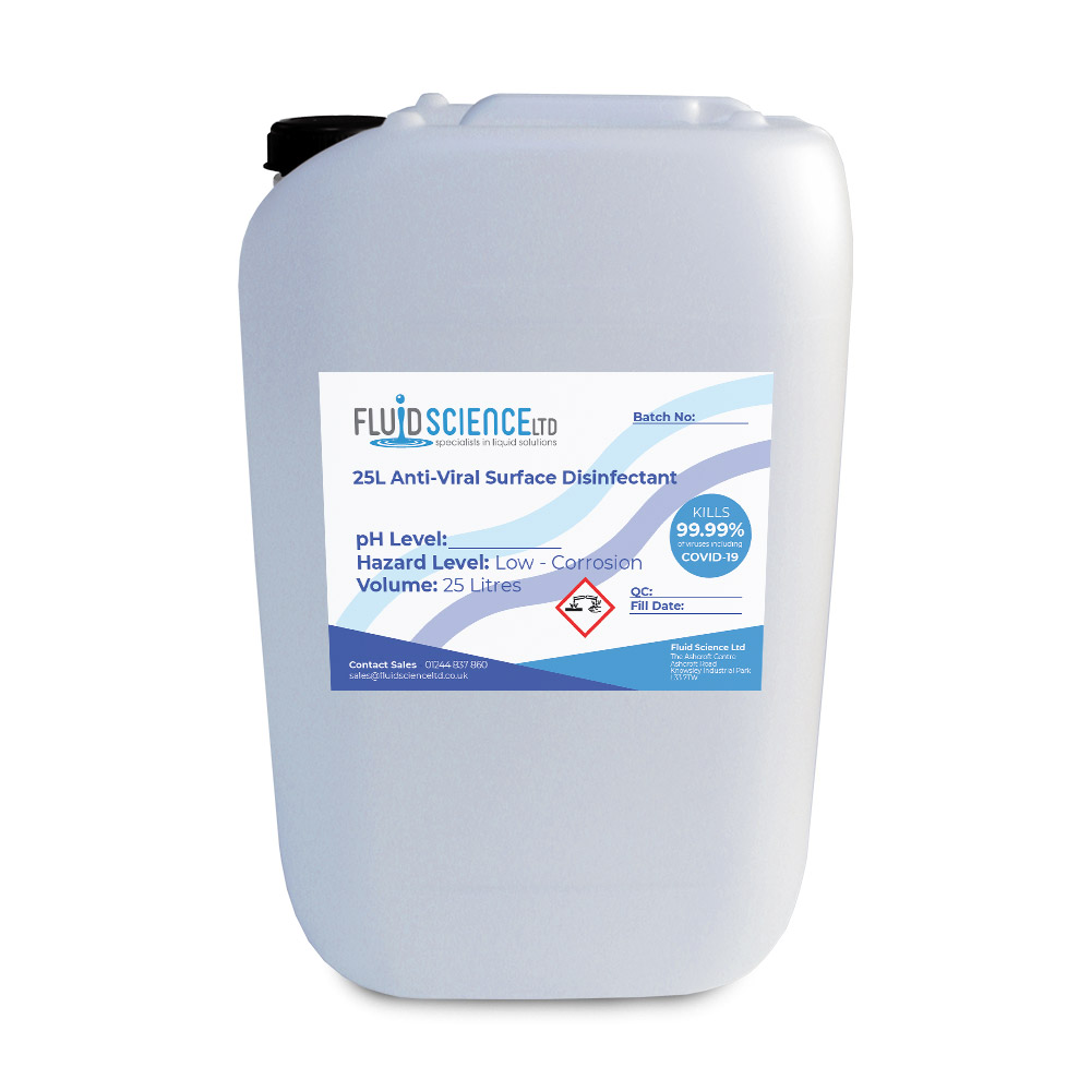 25L antiviral disinfectant