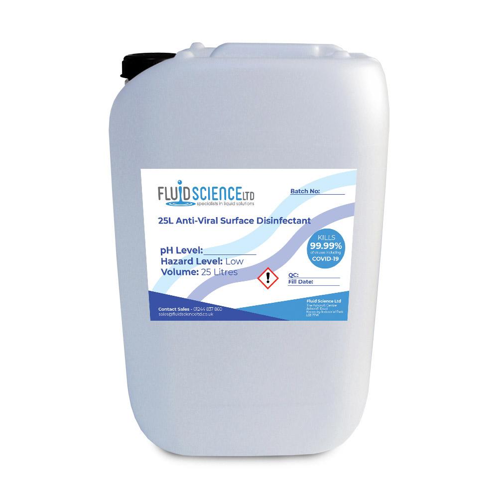 antiviral surface disinfectant bulk