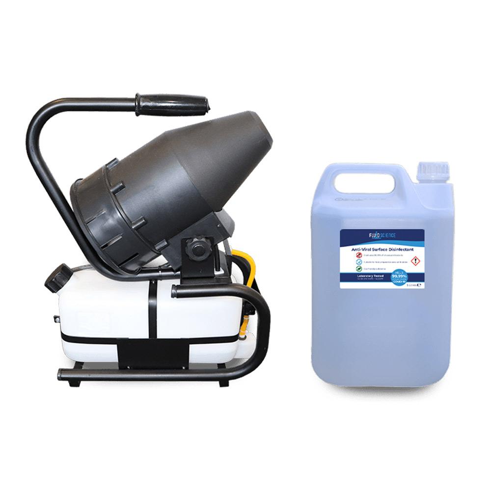 antiviral covid fogging machine
